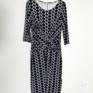 Hobbs London Wrap Front Dress Size 8